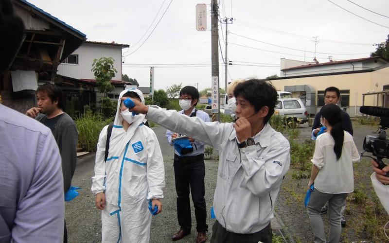 2014年8月2日には会員限定で原発被災地スタディーツアーを実施予定 写真は昨年夏の取材写真
